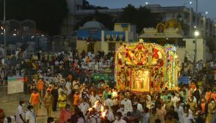 Pushkara Pallaki lo  Purushothamadu Photo Gallery - Sakshi