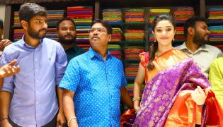 Actress Krithi Shetty Opens Maangalya Shopping Mall In AS Rao Nagar Photo Gallery - Sakshi