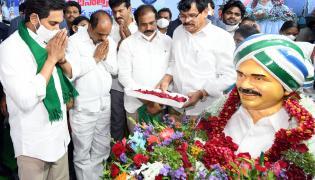 AP CM YS Jagan Raidurgam Tour: Rythu Bharosa Centre Inauguration Special Photos - Sakshi