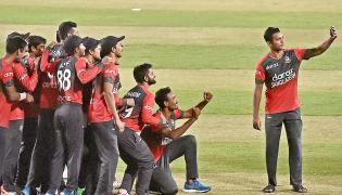 AUSvBAN Twenty20 international Cricket Match  - Sakshi