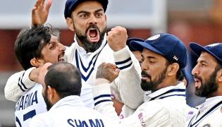 2nd cricket test between England and India at Lords cricket ground - Sakshi