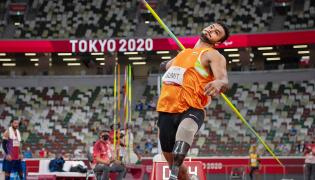 Tokyo Paralympics: Sumit Antil wins gold in javelin throw Photo Gallery - Sakshi