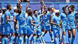 Tokyo olympics India vs Germany Hockey Match Photos - Sakshi