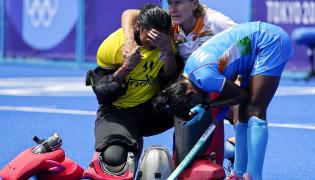 Indian Women Hockey Team Lost In Bronze Match But Wins Hearts Photo Gallery - Sakshi
