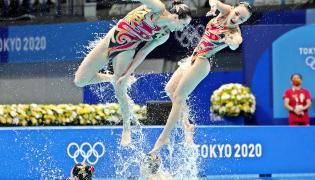 Artistic swimming at the 2020 Summer Olympics - Sakshi