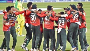 BAN vs AUS Twenty20 international cricket match photos - Sakshi