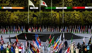 Tokyo Olympics Closing Ceremony Photo Gallery - Sakshi