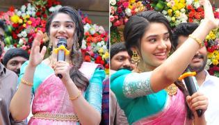 Krithi Shetty Inaugurates South indian Shopping Mall at Khammam Photo Gallery - Sakshi