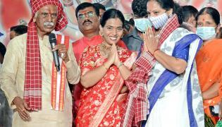 Bandaru Dattatreya Dussehra Alai Balai Celebrations - Sakshi