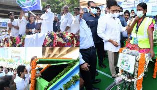 CM YS Jagan Launches Clean Andhra Pradesh Program Photos - Sakshi