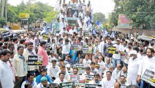 YSRCP protests In AP Photo Gallery - Sakshi