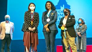 World Women Team Championship - Sakshi