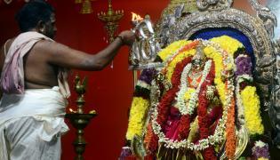 Sri Bala Tripura Sundari Devi Alankaram At Kanaka Durga Temple Photo Gallery - Sakshi