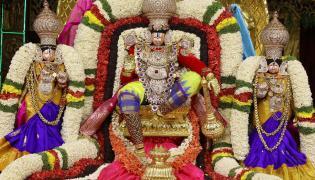 Srivari Brahmotsavam: Dhwaja Arohanam At Tirumala - Sakshi