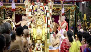 Tirumala Srivari Brahmotsavam 2021 Third Day Photo Gallery - Sakshi