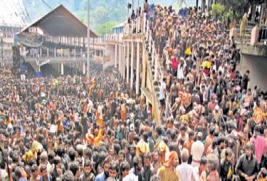 Sabarimala Temple Opens In Few Hours, Protesters Ask Women To Go Back - Sakshi