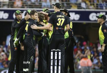Australia Beats India In First T20 - Sakshi