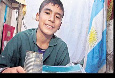 12 yearold teacher creates aschool - Sakshi