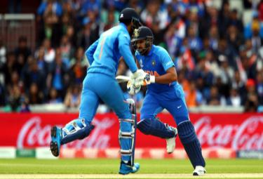 Indias Highest Opening Stand Against Pakistan in World Cup - Sakshi