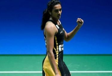 Sindhu Defeats Chinas Chen Yufei To Reach Finals - Sakshi