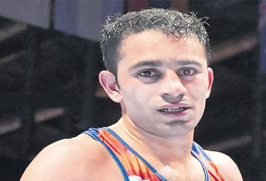 Amit Panghal Insists His Former Coach Be Considered For Dronacharya - Sakshi