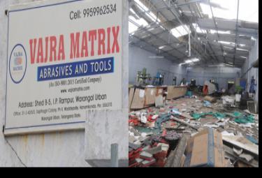 Massive Explosion In Granite Company At Warangal - Sakshi