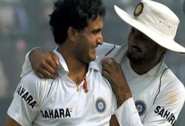 Ganguly Seeks Harbhajans Support Ahead Of New Innings - Sakshi