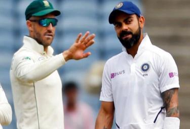 Faf du Plessis May Send Teammate At Toss In Ranchi Test - Sakshi