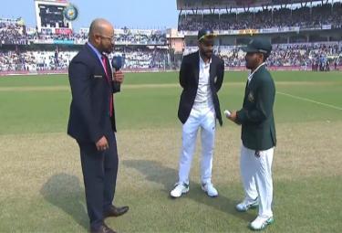 Pink Ball Test: Bangladesh Won the Toss and Elected to Bat - Sakshi