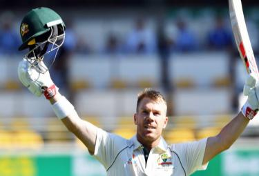 Warner Scores First Century Since Year Long Ban - Sakshi