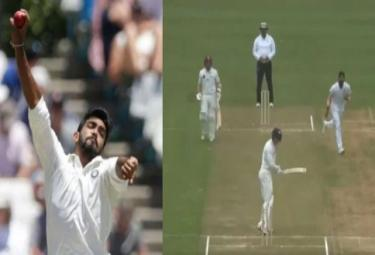 Jasprit Bumrah Bowls Absolute Ripper To Dismiss New Zeland Batsman - Sakshi