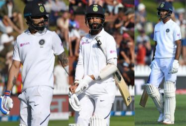 IND VS NZ 1st Test: Boult Dismisses Kohli India In Trouble - Sakshi