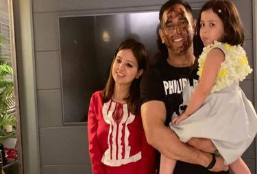 Ms Dhoni Wife Sakshi Dhoni Wrote A Beautiful Message For His Birtday