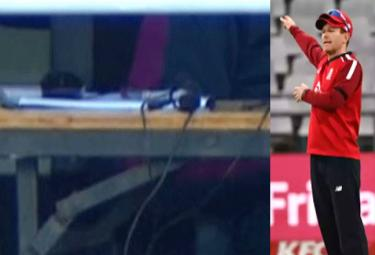 Eoin Morgan Defends Use Of Signals From Team Balcony - Sakshi