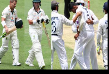 Brisbane Test Day 4: Australia Lost 4 Wickets Before Lunch - Sakshi