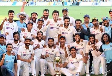 India Spot No 1 ICC World Test Championship Gabba 4th Test Win - Sakshi