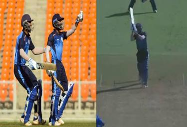 A Thrilling Final Over Last Ball Six Helps Team To Enter Semifinal - Sakshi