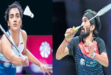 PV Sindhu and Kidambi Srikanth suffer losses BWF Tour Finals - Sakshi