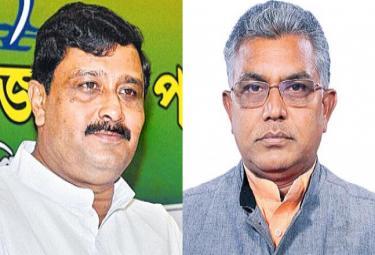 Bengal Polls 2021: Ec Notices BJP leader Rahul Sinha Barred Campaigning - Sakshi