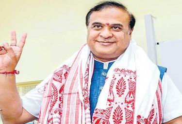 Himanta Biswa Sarma to be sworn in as Assam chief minister - Sakshi