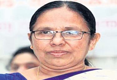 Kerala Health Minister KK Shailaja Dropped From New Cabinet - Sakshi