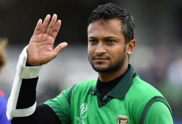 Shakib Al Hasan Gets Three Match Ban - Sakshi