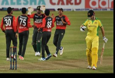 Bangladesh Beaten Australia First Time In T20 International Match - Sakshi
