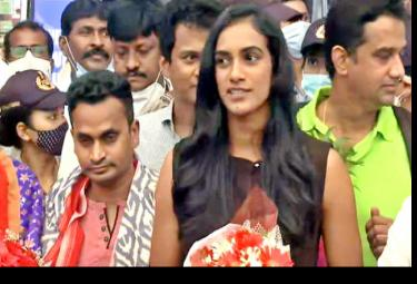 PV Sindhu Says Its Great Achivement After Winning Bronze Tokyo Olympics - Sakshi