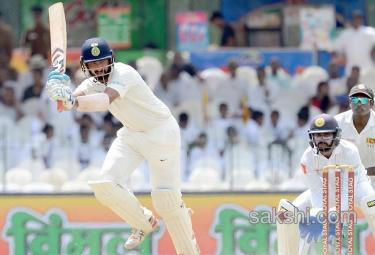 India in the second Test in Colombo