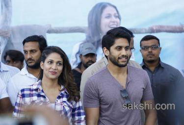 Yuddham Sharanam Team at Rajahmundry GIET College