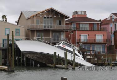 hurricane flood in texas