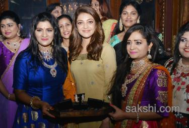 walk for kajal aggarwal in falaknuma palace