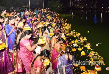 Bathukamma Celebrations at Kukatpally
