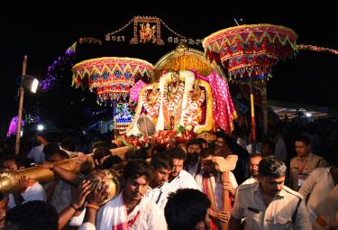 Navaratri festival begins at Kanaka Durga temple